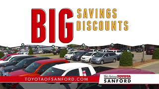 Fred Anderson Toyota Of Sanford   Where Smart Buyer Save   The Big One