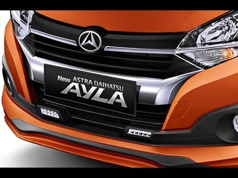 New Daihatsu Ayla 2017 dengan 9 tipe varian dan 6 pilihan warna