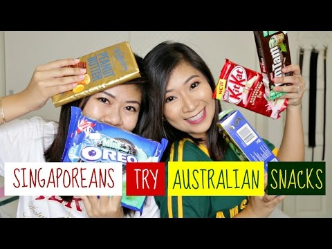 Singaporeans Try Australian Snacks | dygans90