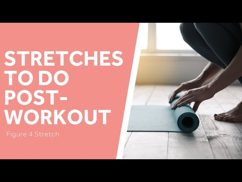The Best Post-Workout Stretches: Figure 4 Stretch