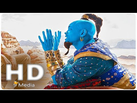 ALADDIN _ Genie First Look (2019) Will Smith, New Disney Live Action Movies HD