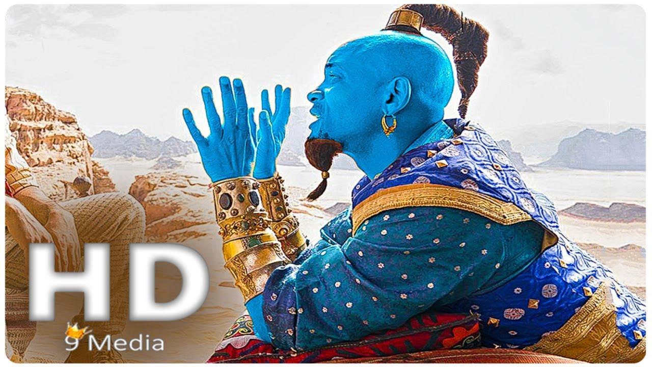 Aladdin 2019: ALADDIN _ Genie First Look (2019) Will Smith, New Disney