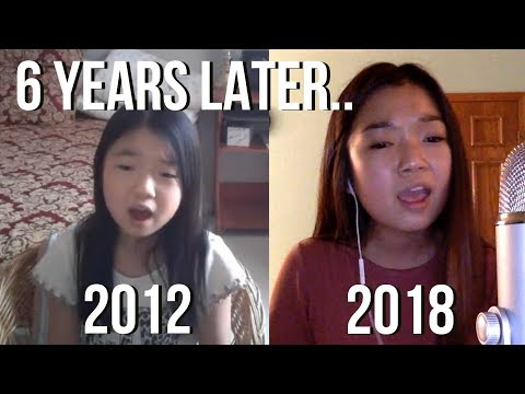 singing the same song 6 years later