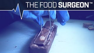 "Watching A ""Food Surgeon"" Combine A 3 Musketeers With A Kit Kat Is Oddly Satisfying"
