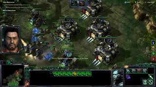 Starcraft LotV Co-op - Never Say Die Solo (Raynor, Brutal)