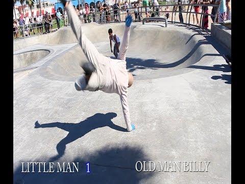 Old Man vs Little Man Break Dance Battle!