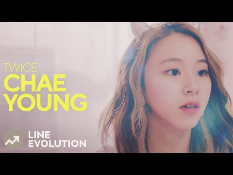 TWICE - CHAEYOUNG (Line Evolution)  • APR/2018