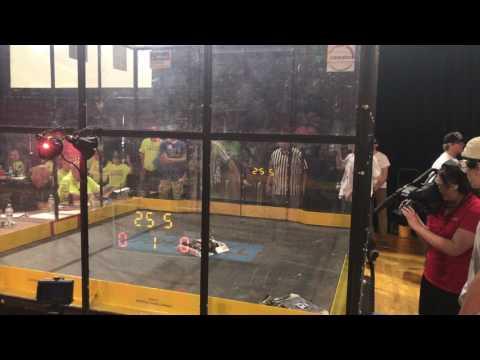 "Hempfield Area High School ""ELI"" vs.  Admiral Peary AVTS ""Crusader"" Bots IQ Finals Day 1 2017"