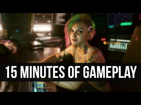 15 Minutes of NEW Cyberpunk 2077 Gameplay - Visual Upgrades, New Images