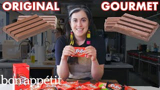 Download Pastry Chef Attempts To Make Gourmet Kit Kats | Gourmet Makes | Bon Appétit Mp3 and Videos