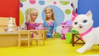 Türkçe izle - oyuncaklarla eğitici kız çocuk oyunları/videoları.Barbie ve kayıp kedi.Kukla oyunu