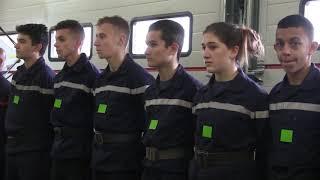 Les pompiers d'Avallon ont célébré la Sainte-Barbe.