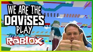 Crazy Obby Parkour Action | Roblox Mega Fun Obby EP-42 | We Are The Davises Gaming