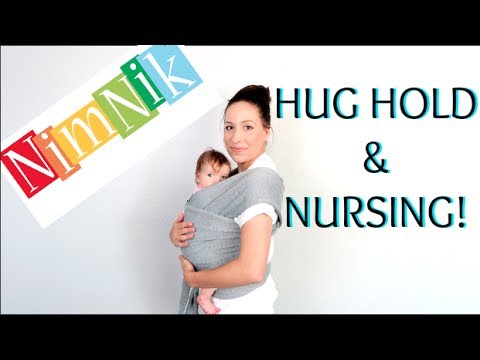 How I Use My Baby Wrap Hug Hold Nursing In The Wrap Youtube