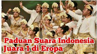 Bikin Bangga, Paduan Suara Indonesia Juara 1 di Eropa, Congratulation to Resonanz Children's Choir