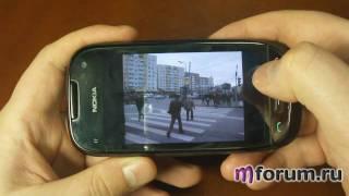 Обзор Nokia C7 - Камера