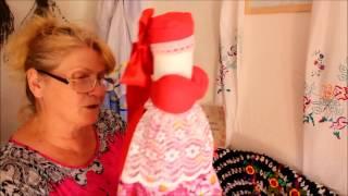 Атамань, хата с куклами-оберегами