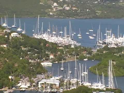 Antigua, falmouth harbour.