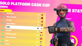 HOW I GOT 9TH IN SOLO CASH CUP (900$)