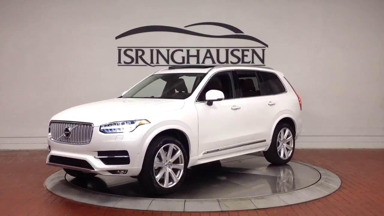 2018 volvo xc90 t6 awd inscription in crystal white. Black Bedroom Furniture Sets. Home Design Ideas