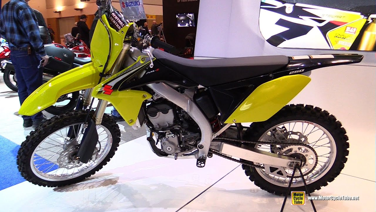 2016 suzuki rmz 250 walkaround 2016 toronto motorcycle. Black Bedroom Furniture Sets. Home Design Ideas