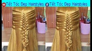 Tết Tóc Đẹp Hairstyles - kiểu tết tóc đẹp  Cách Tết Tóc Đơn Giản Mà Đẹp  Bài 11