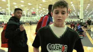 Repeat youtube video Alec Rodriguez Basketball - NY Gauchos Agame Super Shootout Spooky Nook PA