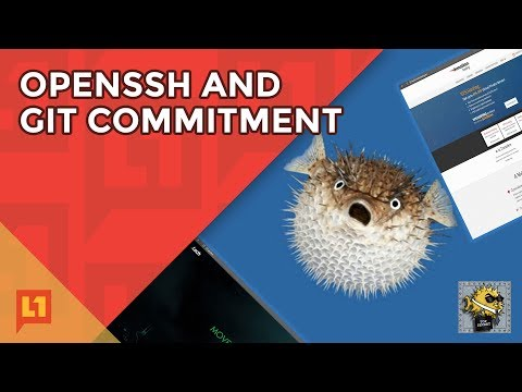 OpenSSH and Git Commitment