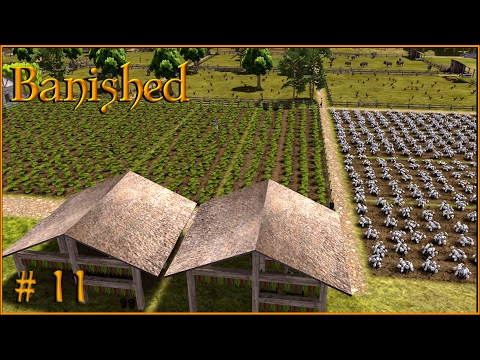 Banished Gameplay - Do you have a cigar? | The tobacco plantations! S1 EP11
