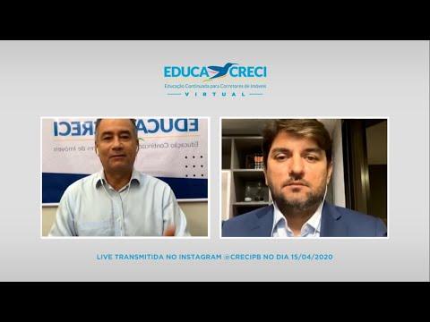 Educacreci Virtual – Bruno Lemos   Controvérsias envolvendo os contratos de promessa de compra e venda no período de pandemia