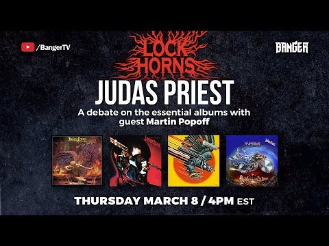 Lock Horns | Judas Priest Essential Albums debate