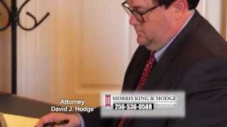 David Hodge Alabama Personal Injury Lawyer Morris, King & Hodge
