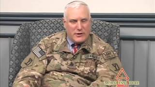 Bazer Afghanistan veteran U.S. Army chaplain Natick Veterans Oral History Project