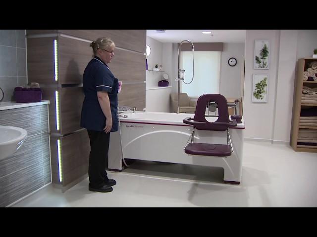 CAPRICE : La baignoire à hauteur variable électrique sur-mesure