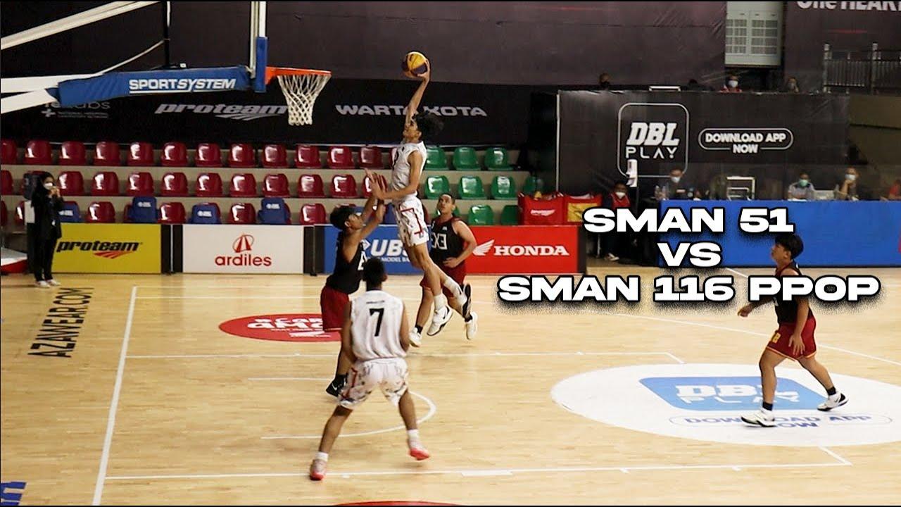 Download SMAN 116 PPOP vs SMAN 51 Highlights | 3x3 DBL Jakarta 2021