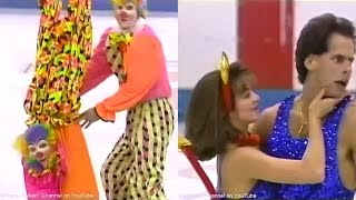 Brasseur & Eisler - 1992 Albertville Olympics Exhibition ''Circus'', ''Devil With A Blue Dress On''