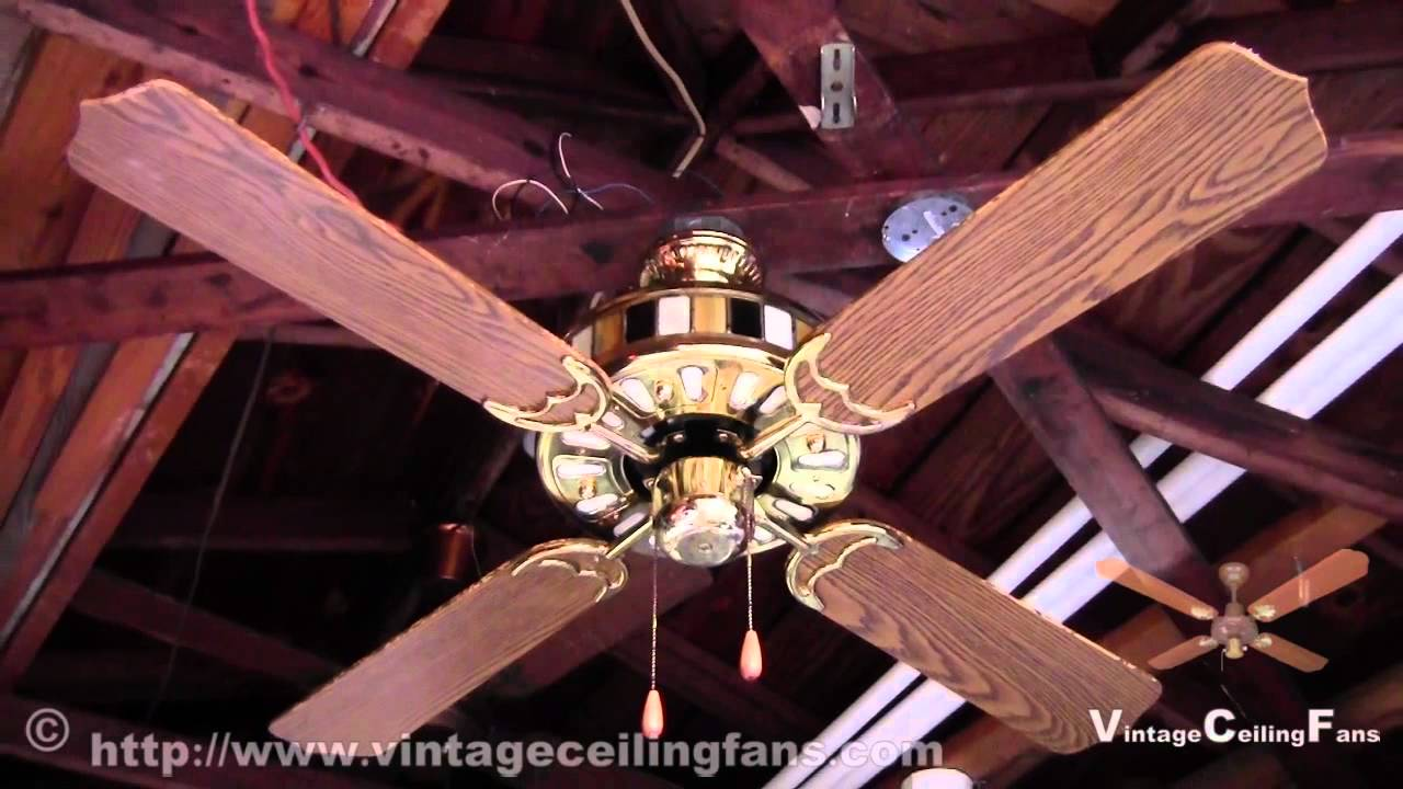 Scottys Hardware Lighted Housing Ceiling Fan Model HG