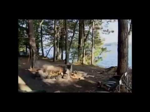 Camping at Saranac Lake Islands