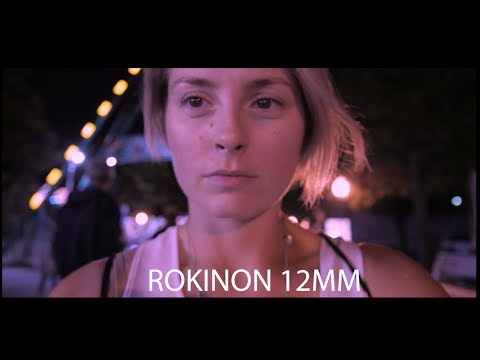 Unboxing a new lens  ROKINON 12MM PANASONIC G7