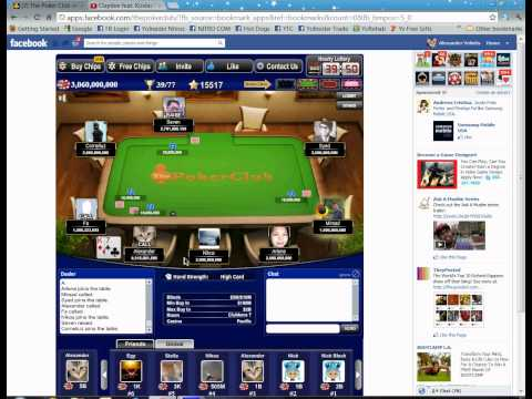 Amazing win of me in the game The Poker Club on Facebook Mp3