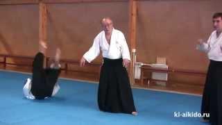 Сила расслабления при выполнении приемов айкидо(Как сила расслабления позволяет выполнить прием айкидо при жестком захвате., 2015-04-19T12:11:43.000Z)