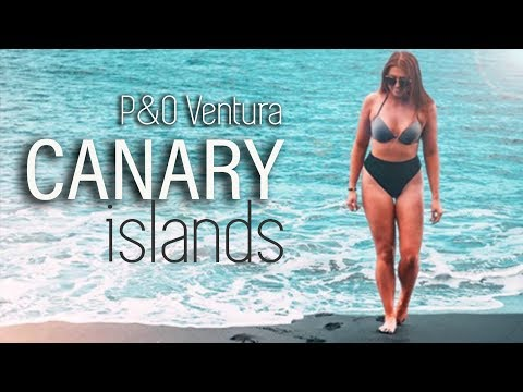 P&O Ventura Canary Islands Cruise - Full Review & Excursions! 2018