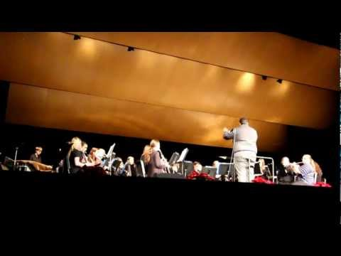 Greenfield High School, WI ~ Concert Band Christmas Concert 2012 ~ 1st Number