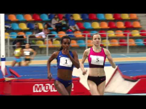Récord del mundo de 2000m de Genzebe Dibaba  (World Record 5:23.75 ·Sabadell) Full Race
