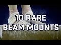 10 RARE BEAM MOUNTS