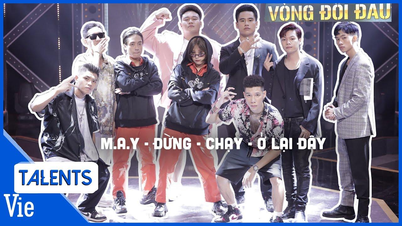 4 tiết mục đối đầu đỉnh cao của TEAM KARIK: M.A.Y - ĐỪNG - CHẠY - Ở LẠI ĐÂY   Rap Việt