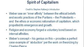 a review of asceticism and the spirit of capitalism a thesis by max weber