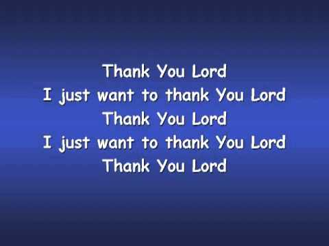 Thank You Lord  with Lyrics