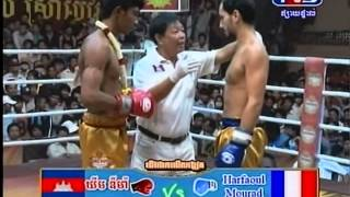 TV3 International boxing: Khim Dima VS Harfoul Mourad (France) 61kg 19 Jan 2014
