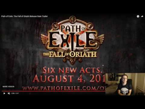 Fall of Oriath Release Date, Trailers, Cinematics and Updated MTX System